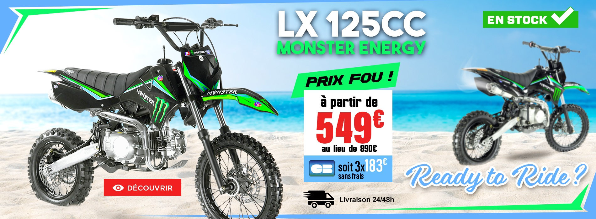 dirtbike lx 125cc 12-14 monster 2018