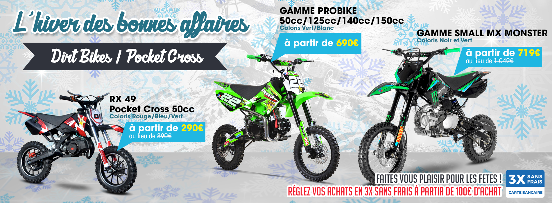 Small MX - spécialiste DIRT BIKE