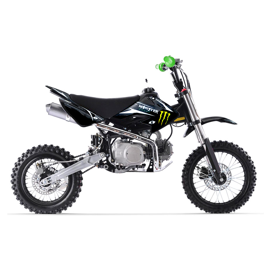 dirt bike 125 monster pas cher. Black Bedroom Furniture Sets. Home Design Ideas