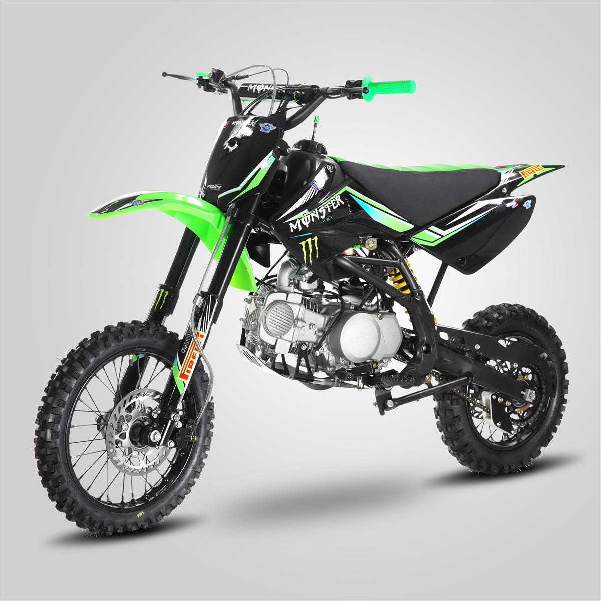 pit bike smx mx5 monster 125cc 12 14 smallmx dirt bike. Black Bedroom Furniture Sets. Home Design Ideas