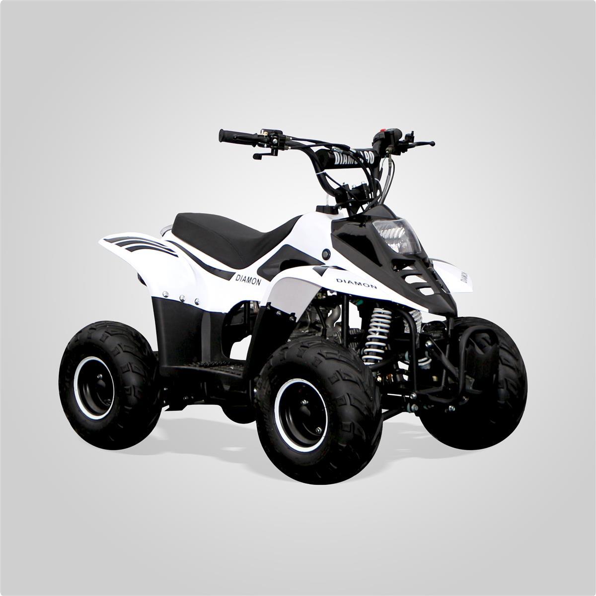 quad enfant diamon 110cc blanc smallmx dirt bike pit bike. Black Bedroom Furniture Sets. Home Design Ideas