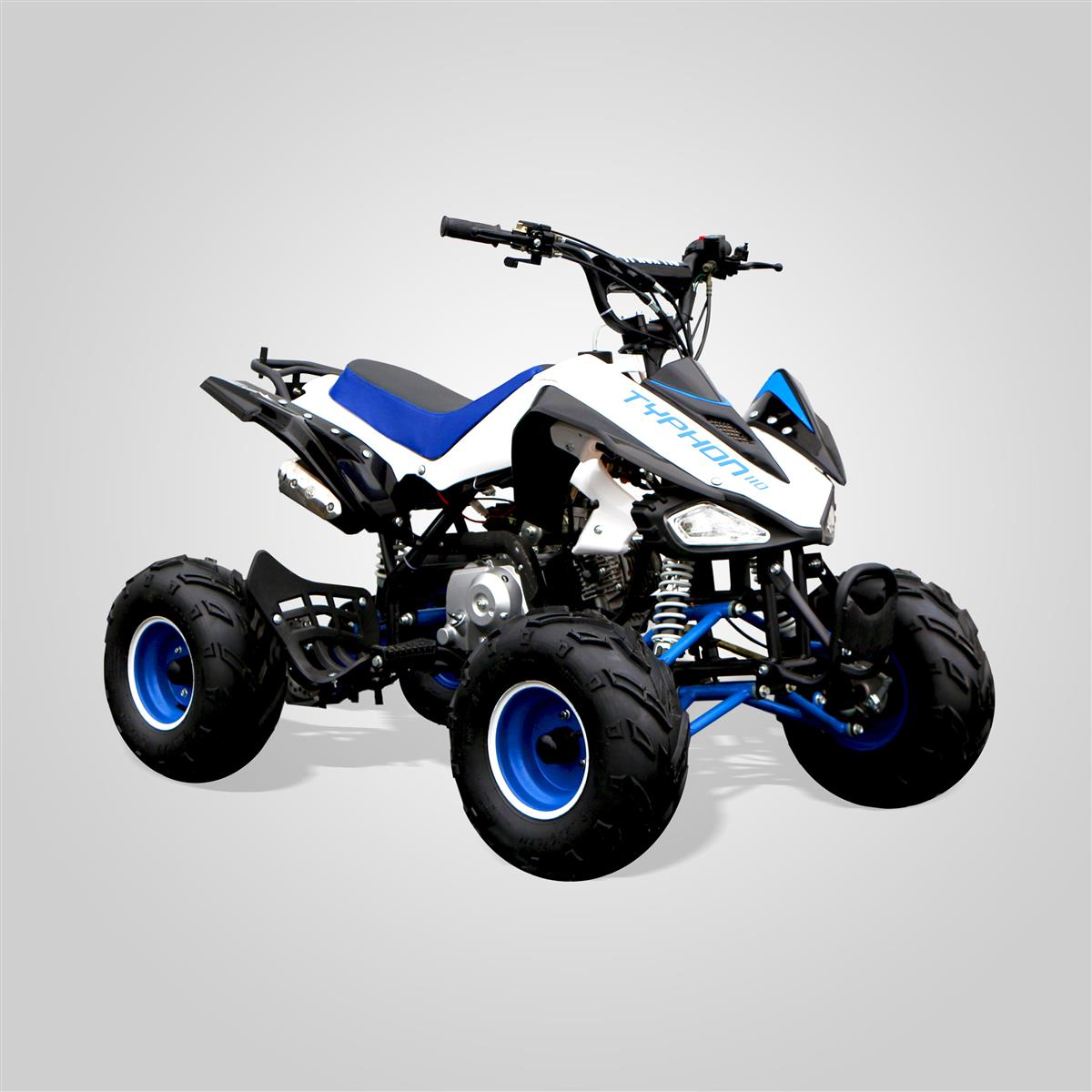 quad enfant typhon 110 bleu smallmx dirt bike pit bike. Black Bedroom Furniture Sets. Home Design Ideas