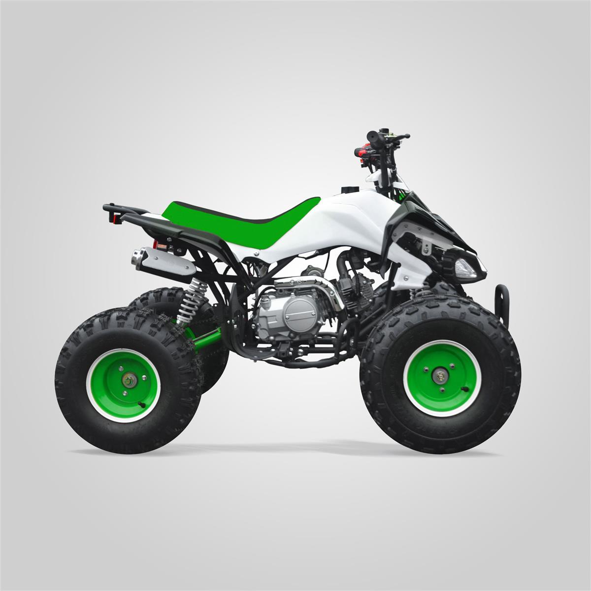 quad enfant typhon 125 vert smallmx dirt bike pit bike. Black Bedroom Furniture Sets. Home Design Ideas