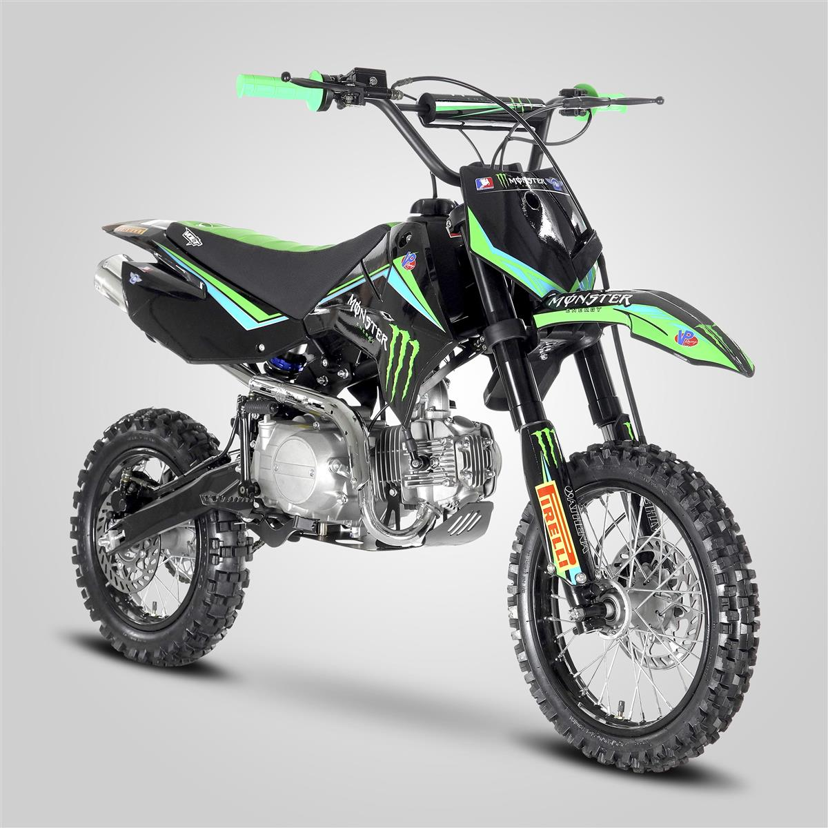 dirt bike pit bike mx 110cc semi auto 12 14 monster smallmx dirt bike pit bike quads. Black Bedroom Furniture Sets. Home Design Ideas