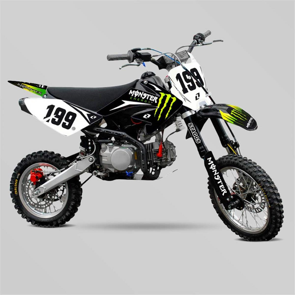 kit deco monster energy crf70 smallmx dirt bike pit bike quads minimoto. Black Bedroom Furniture Sets. Home Design Ideas