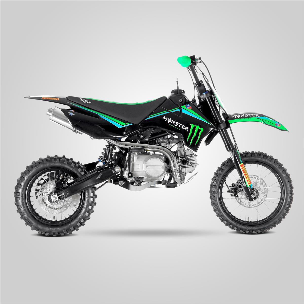 kit deco monster dirt bike 125cc one industrie. Black Bedroom Furniture Sets. Home Design Ideas