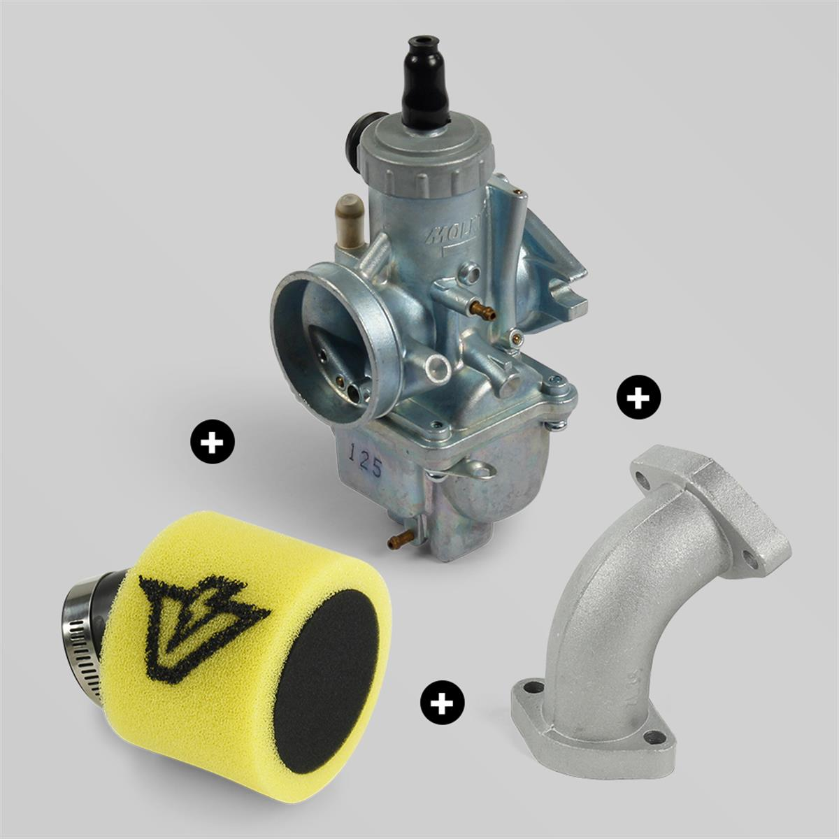 pack-carburateur-molkt-26mm-filtre-a-air-volt-racing-42mm-jaune
