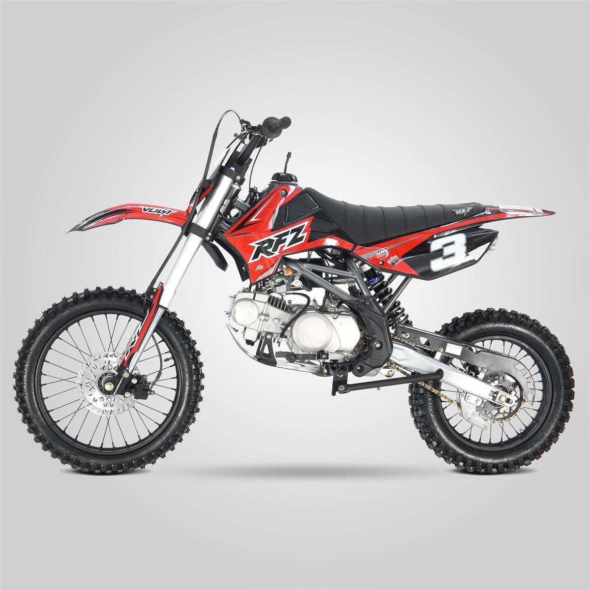 dirt bike 125cc rfz apollo motors 2018 smallmx dirt. Black Bedroom Furniture Sets. Home Design Ideas