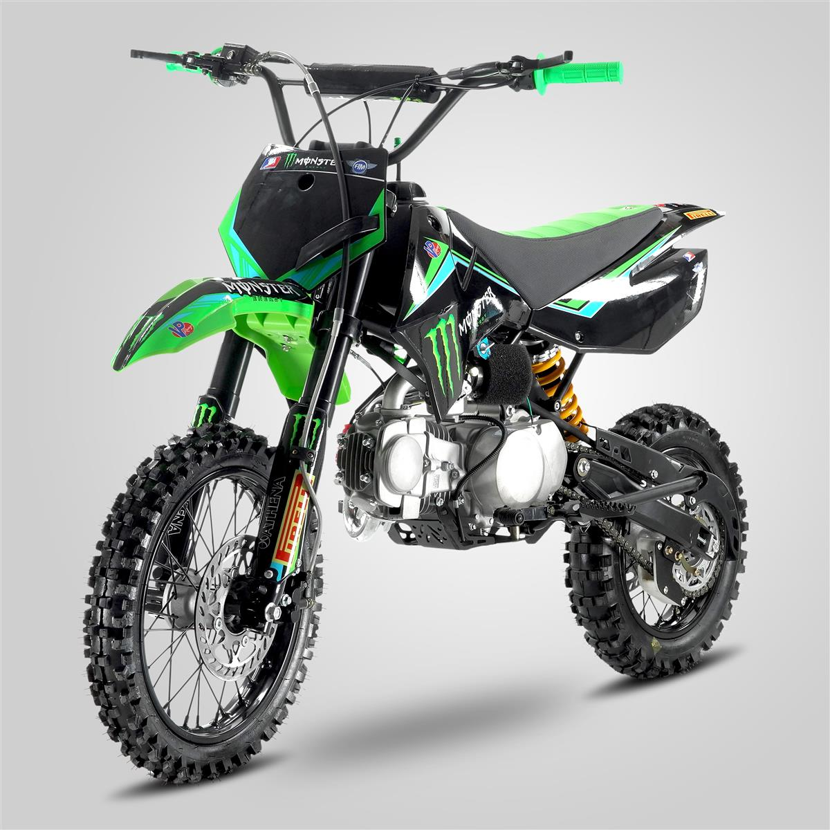 pit bike smx mxone monster 125cc 12 14 smallmx dirt. Black Bedroom Furniture Sets. Home Design Ideas