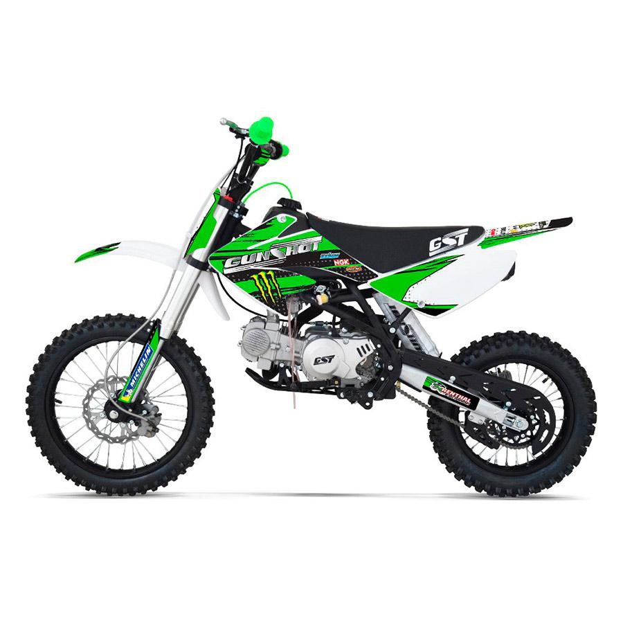 pit bike gunshot 140 f 14 17 vert 2014 smallmx dirt bike pit bike quads minimoto. Black Bedroom Furniture Sets. Home Design Ideas