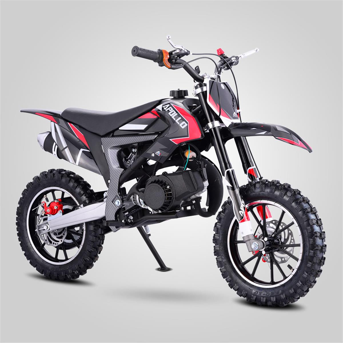 pocket cross enfants 50cc rouge smallmx dirt bike pit bike quads minimoto. Black Bedroom Furniture Sets. Home Design Ideas
