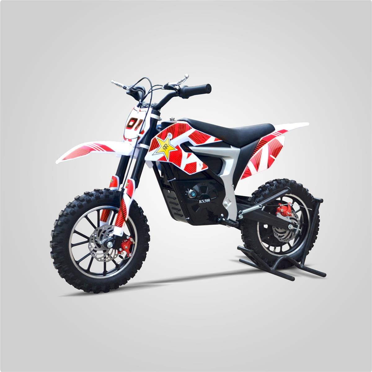 pocket cross rx 500w rouge mod le lectrique smallmx dirt bike pit bike quads minimoto. Black Bedroom Furniture Sets. Home Design Ideas