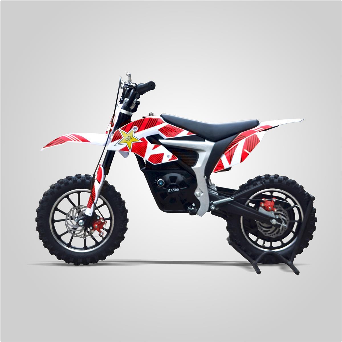 pocket cross rx 500w rouge mod le lectrique smallmx dirt bike pit bike quads minimoto. Black Bedroom Furniture Sets. Home Design Ideas