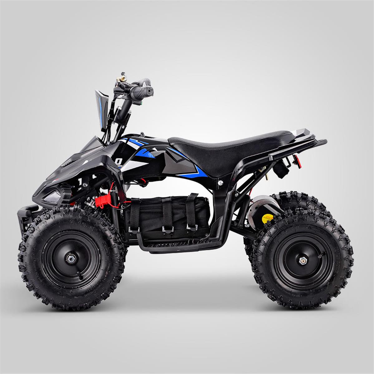 quad bleu enfant electrique 1000w fox smallmx dirt bike pit bike quads minimoto. Black Bedroom Furniture Sets. Home Design Ideas