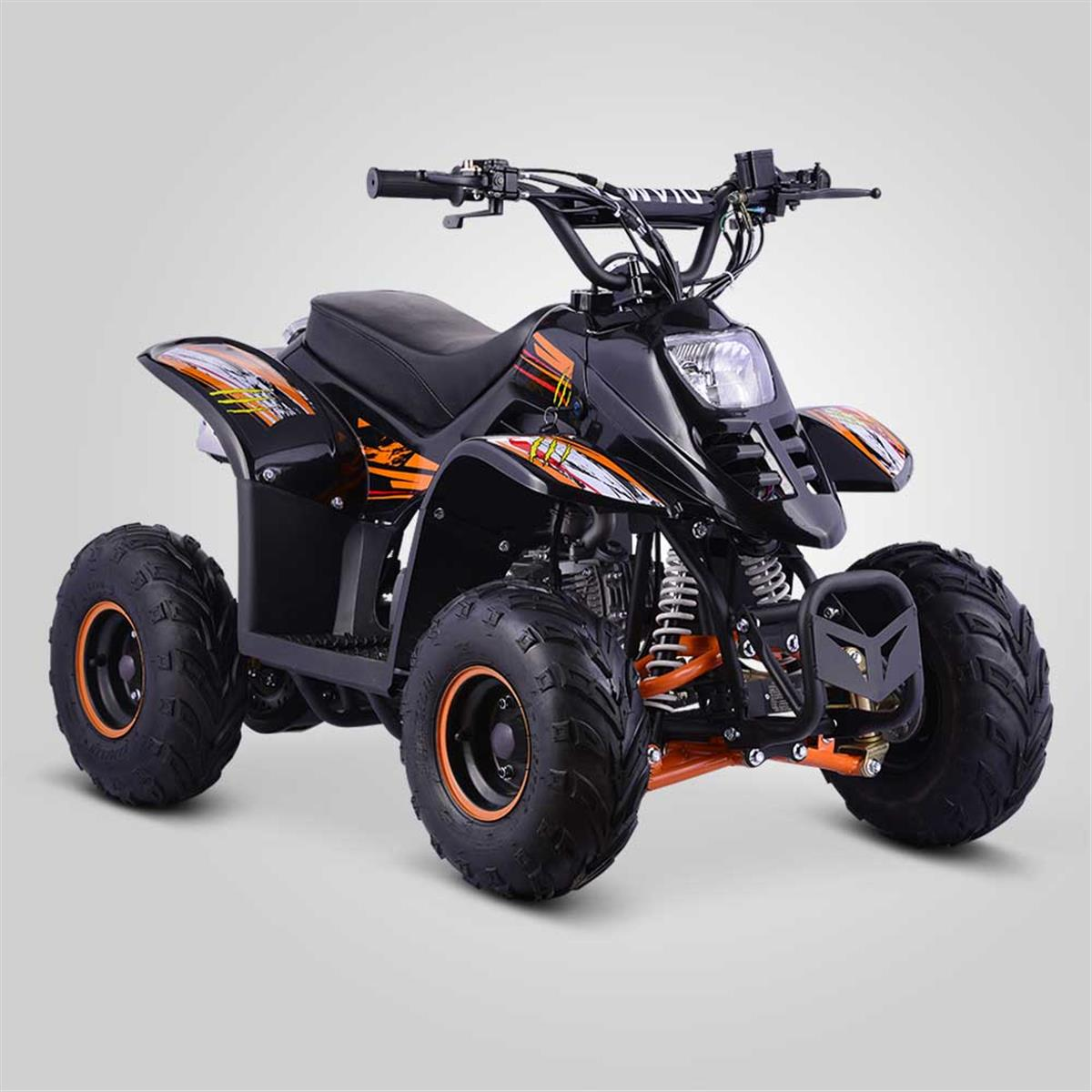quad enfant diamon 110cc orange smallmx dirt bike pit bike quads minimoto. Black Bedroom Furniture Sets. Home Design Ideas