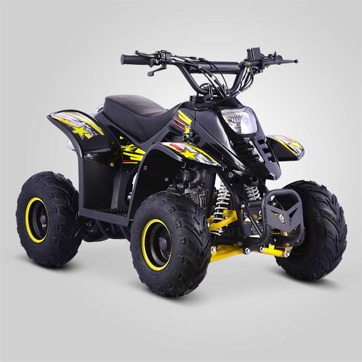quad de loisirs 90cc diamon jaune smallmx dirt bike. Black Bedroom Furniture Sets. Home Design Ideas