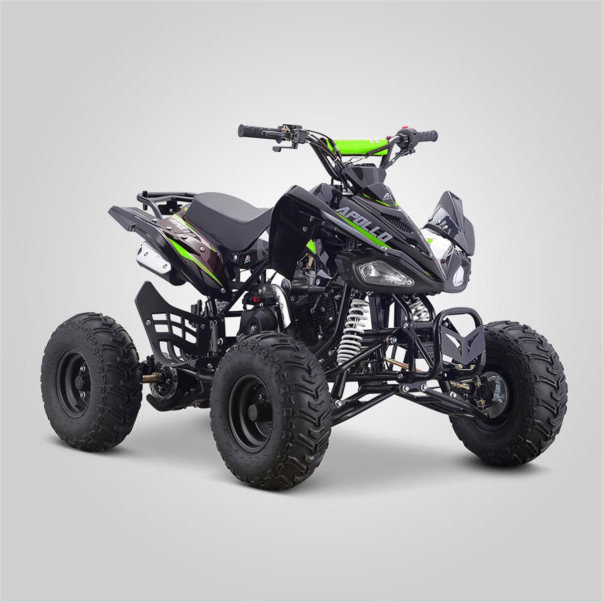 quad enfant 110cc hurricane vert apollo motors smallmx dirt bike pit bike quads minimoto. Black Bedroom Furniture Sets. Home Design Ideas
