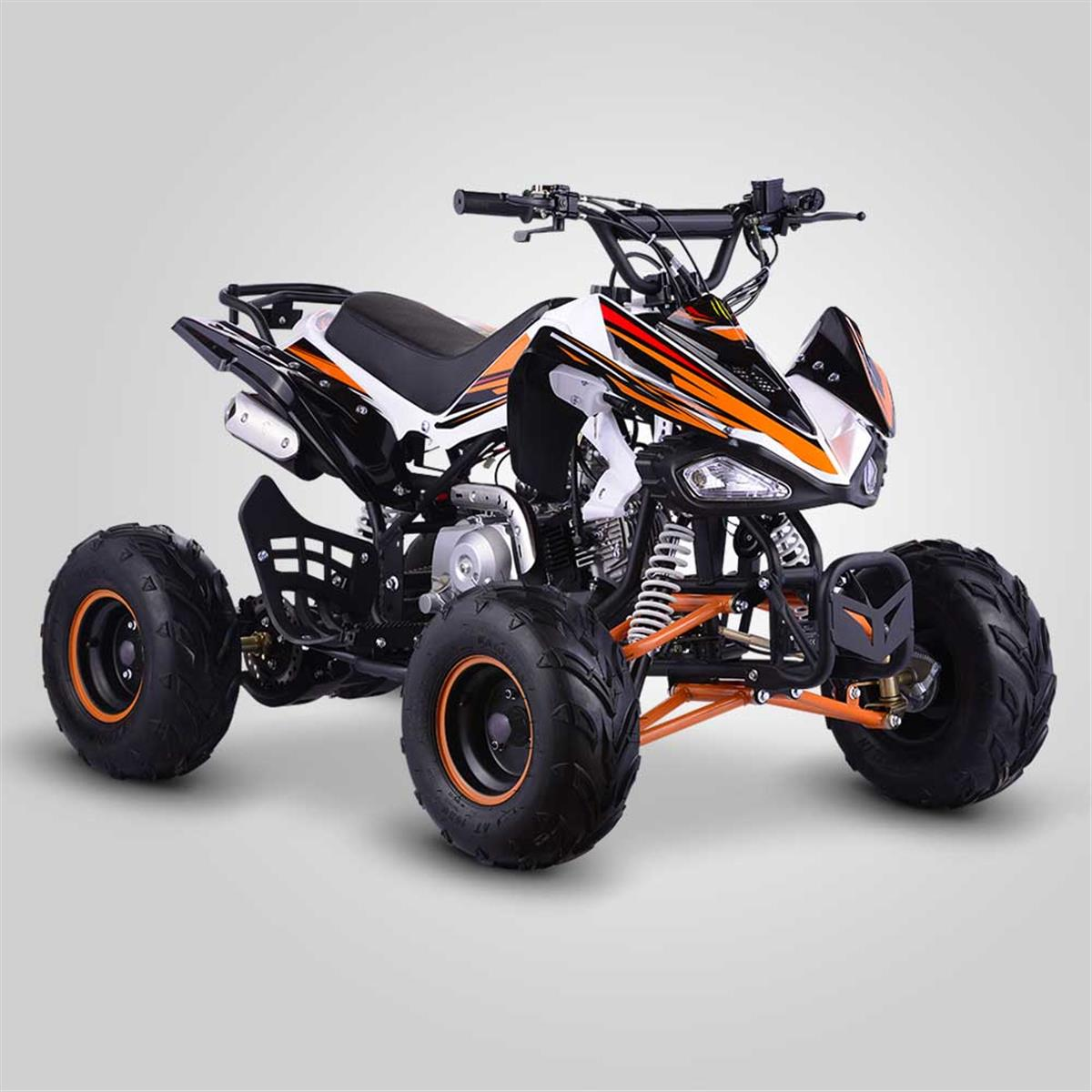 quad enfant 110cc orange pour enfants smallmx dirt bike pit bike quads minimoto. Black Bedroom Furniture Sets. Home Design Ideas
