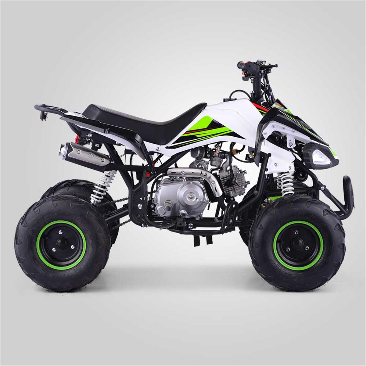 quad enfant typhon 110cc vert smallmx dirt bike pit bike quads minimoto. Black Bedroom Furniture Sets. Home Design Ideas
