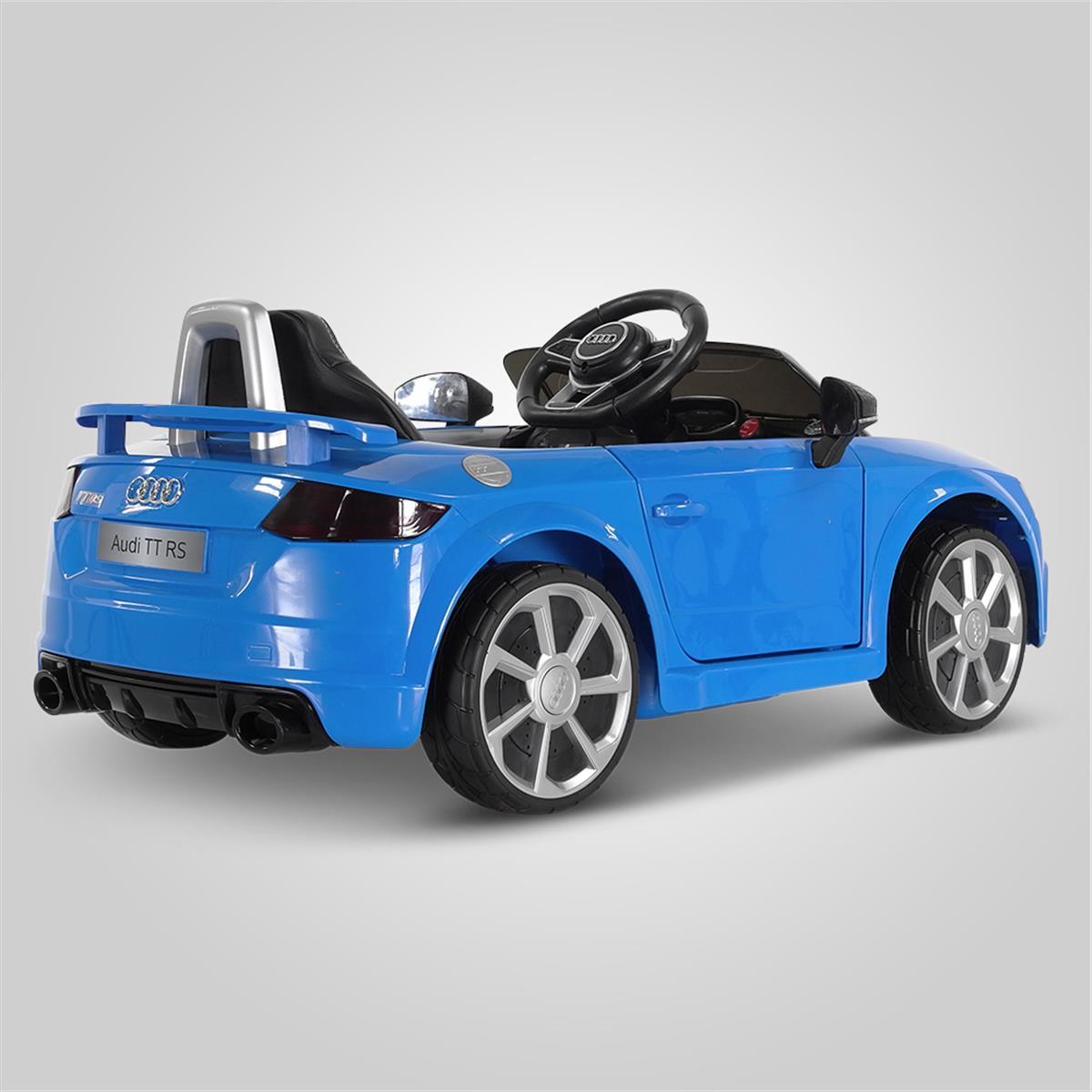 Voiture lectrique pour bebe 12v 2 places Audi TT RS 50w   Smallmx ... bf77aa4312f6