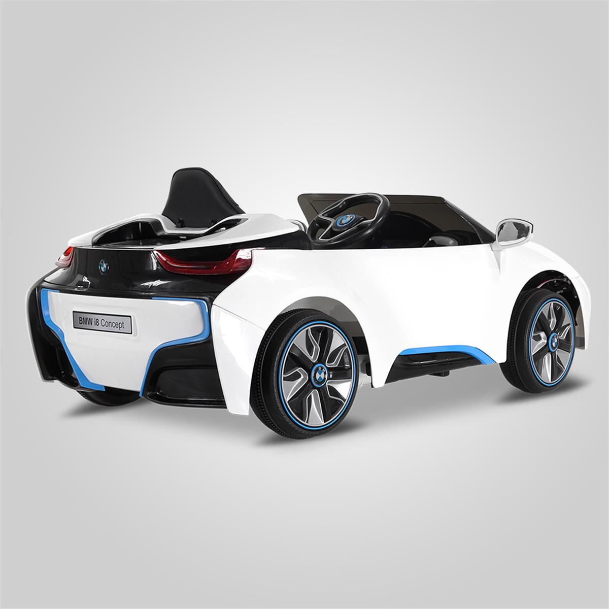 voiture lectrique bmw i8 pour les enfants smallmx smallmx dirt bike pit bike quads. Black Bedroom Furniture Sets. Home Design Ideas