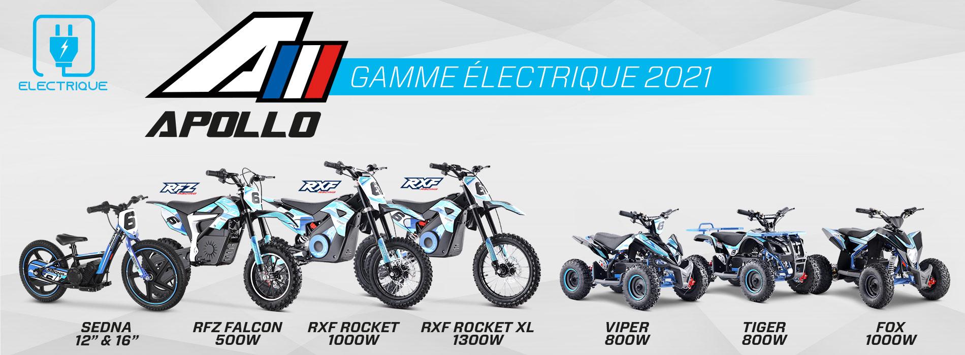 gamme electrique 2021
