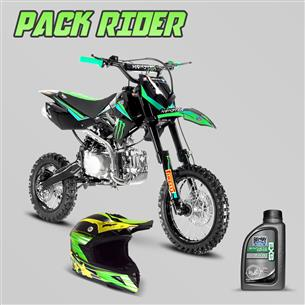 pack-rider-dirt-bike-mx-110cc-semi-auto-12-14-monster-casque-cross-huile-15w50