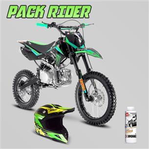 pack-rider-dirt-bike-sx-150cc-14-17-monster-casque-cross-huile-15w50